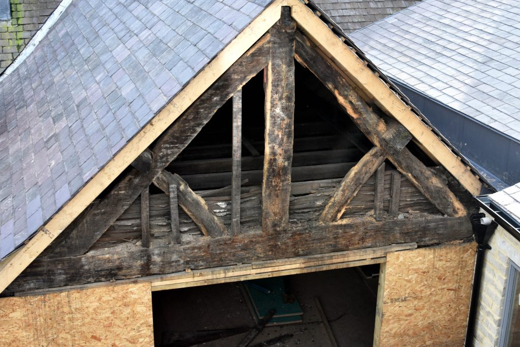 lamberts yards oldest timber frame in leeds