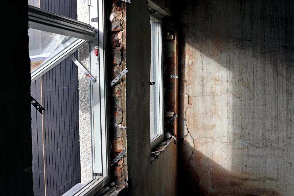 new window installation at lamberts yard