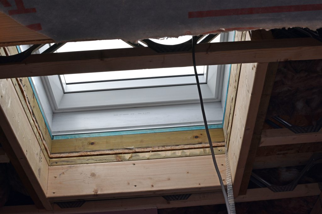 Skylights installed at new penthouse extension
