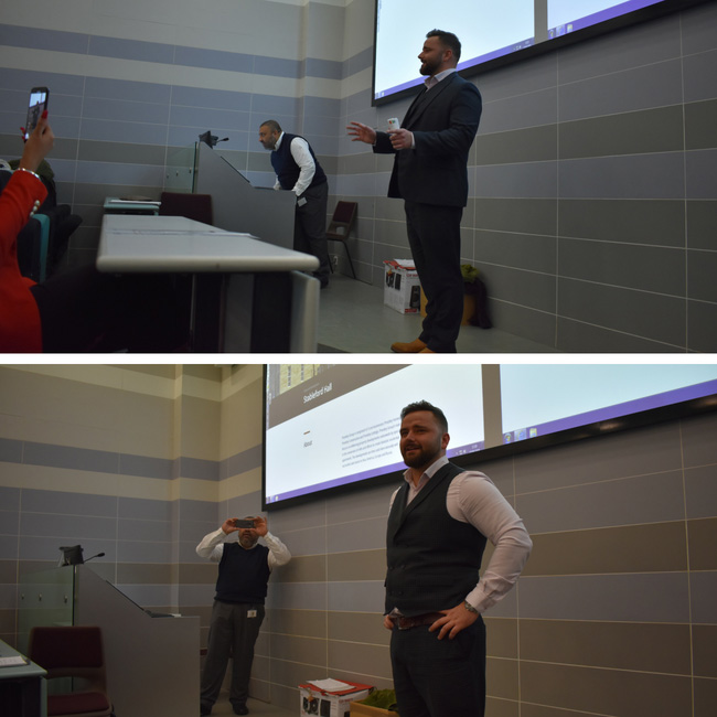 James Priestley Bradford University Talk - Priestley's