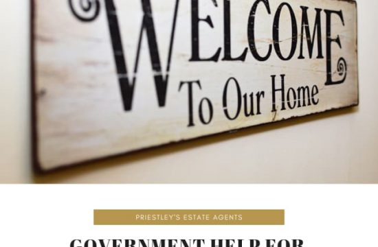 What Government Help is Available for First-Time Buyers - Priestley's Estate Agents