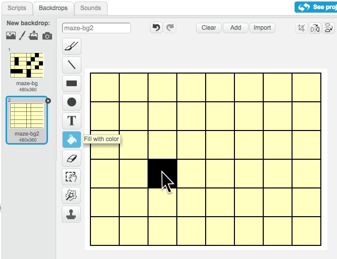 Create a custom maze