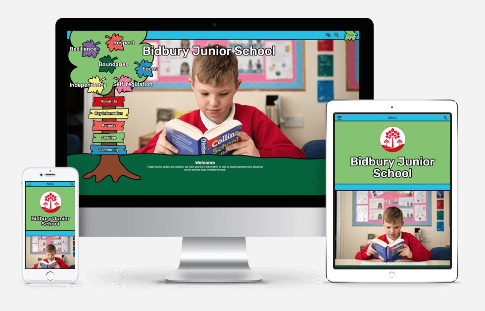 New Website Designed For Bidbury Junior School