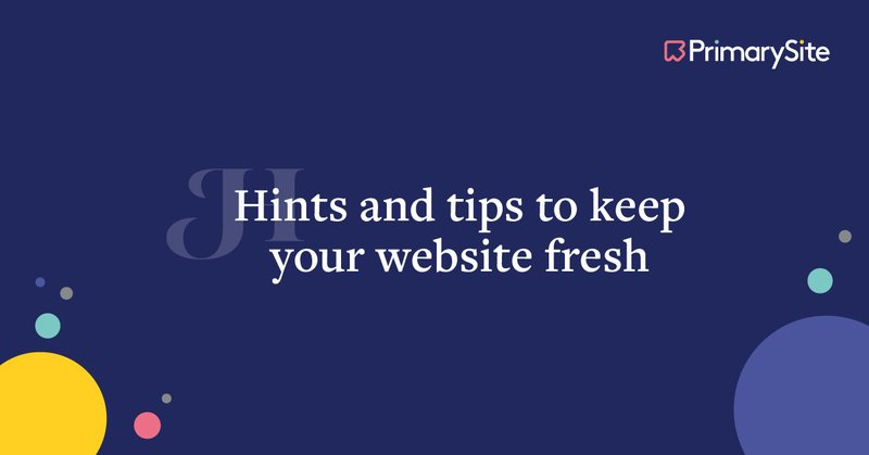how to keep your website looking fresh