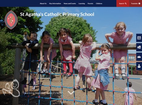 Home   St Agatha's Catholic Primary School.png