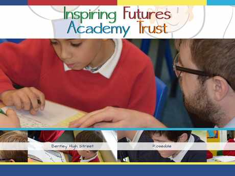 Inspiring Futures Academy Trust website design