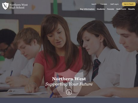 New Website Designed For Northern West High School