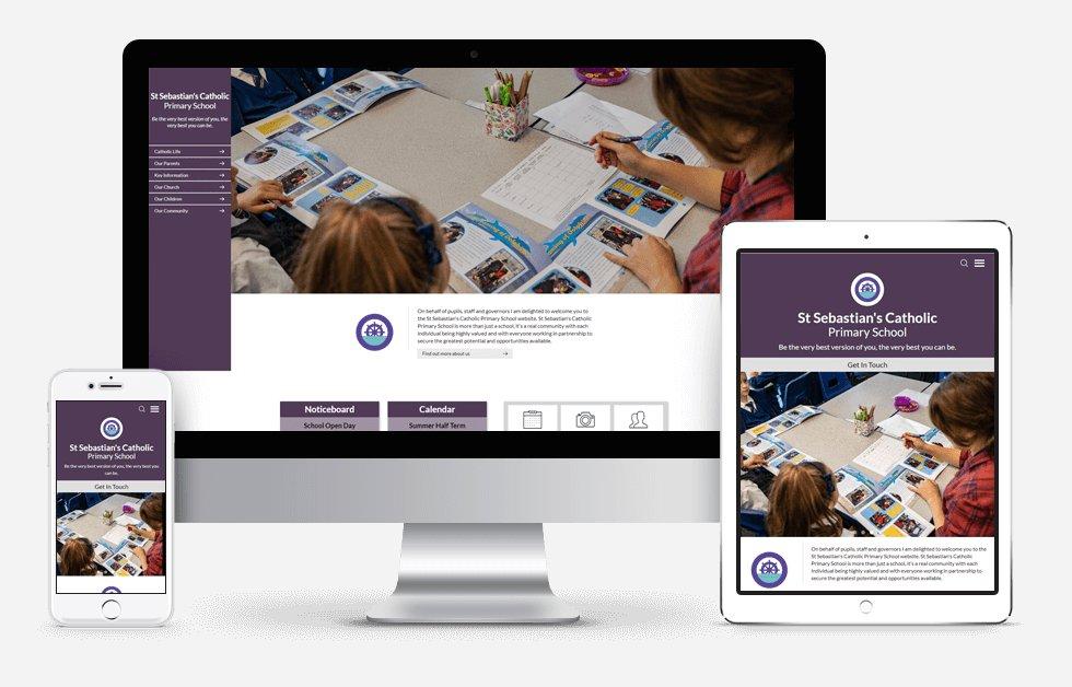 St Sebastian's Catholic Primary School Website Design