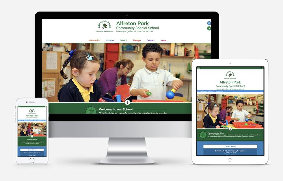 New Website Designed For Alfreton Park