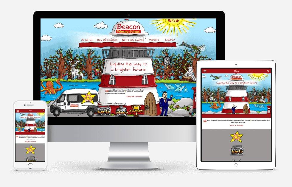 Website Design For Beacon Primary School
