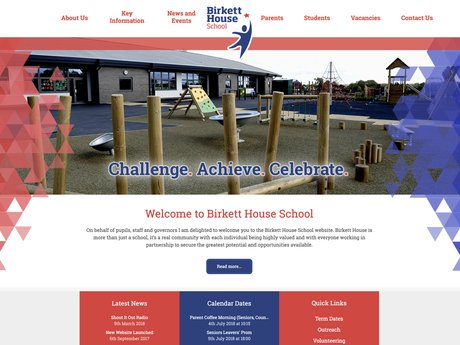New Website Designed For Birkett House School