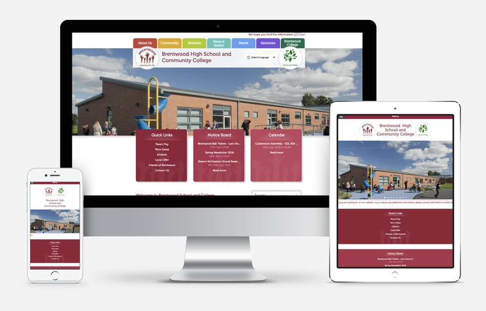 New Website Designed For Brentwood High School