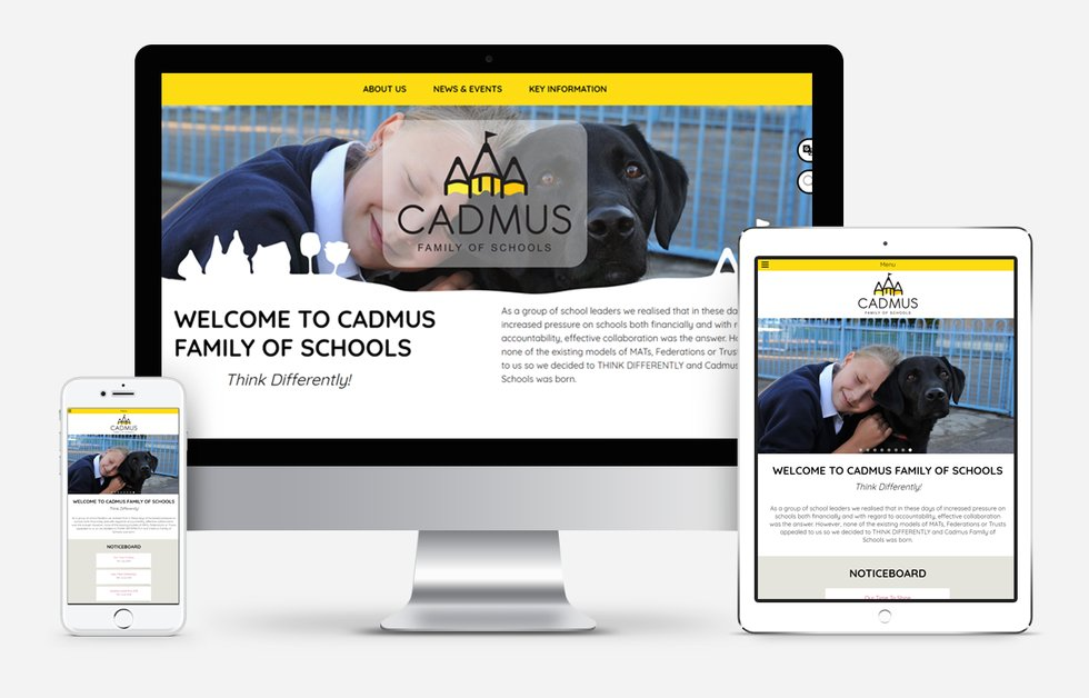 Cadmus Schools Website Design