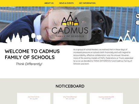 Website Design For Cadmus Schools