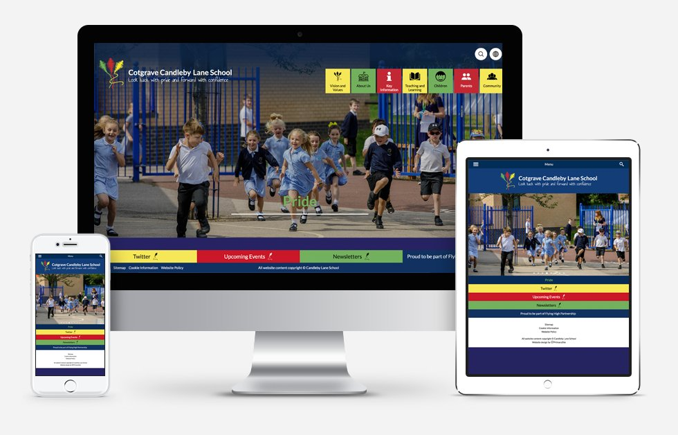 New Website Design For Cotgrave Candleby Lane School