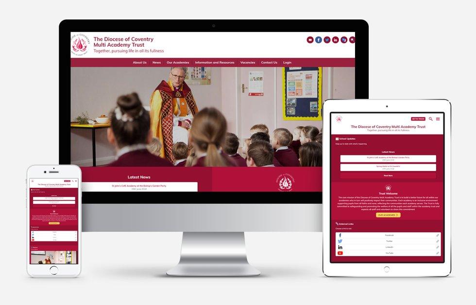 Website Design For Coventry Multi Academy Trust