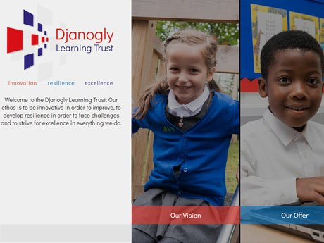 Website Design For Djanogly Learning Trust