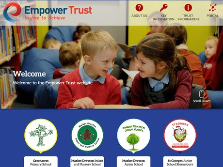 Empower Trust Website Design