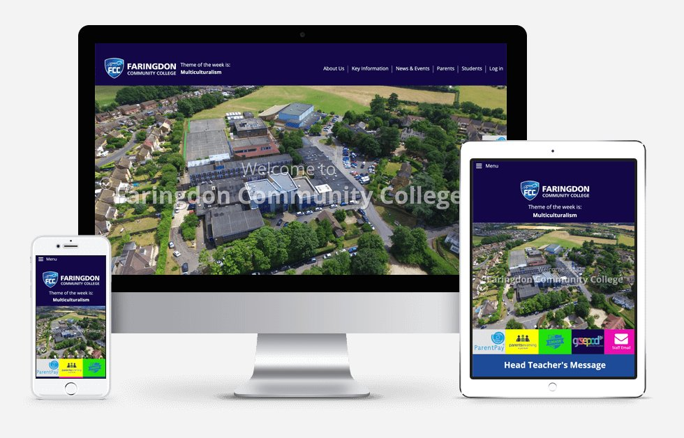 Faringdon Community College Website Design