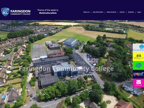 Website Design For Faringdon Community College