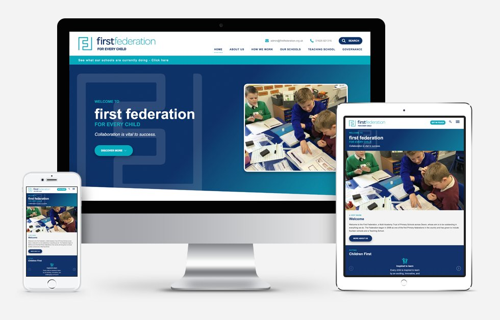 New Website Design For First Federation