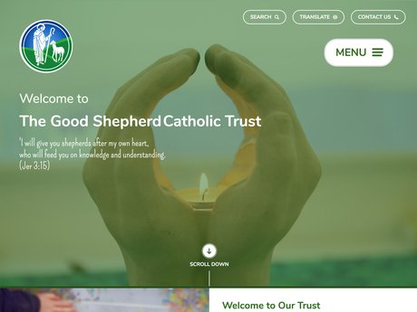 Website Design For The Good Shepherd Catholic Academies Trust