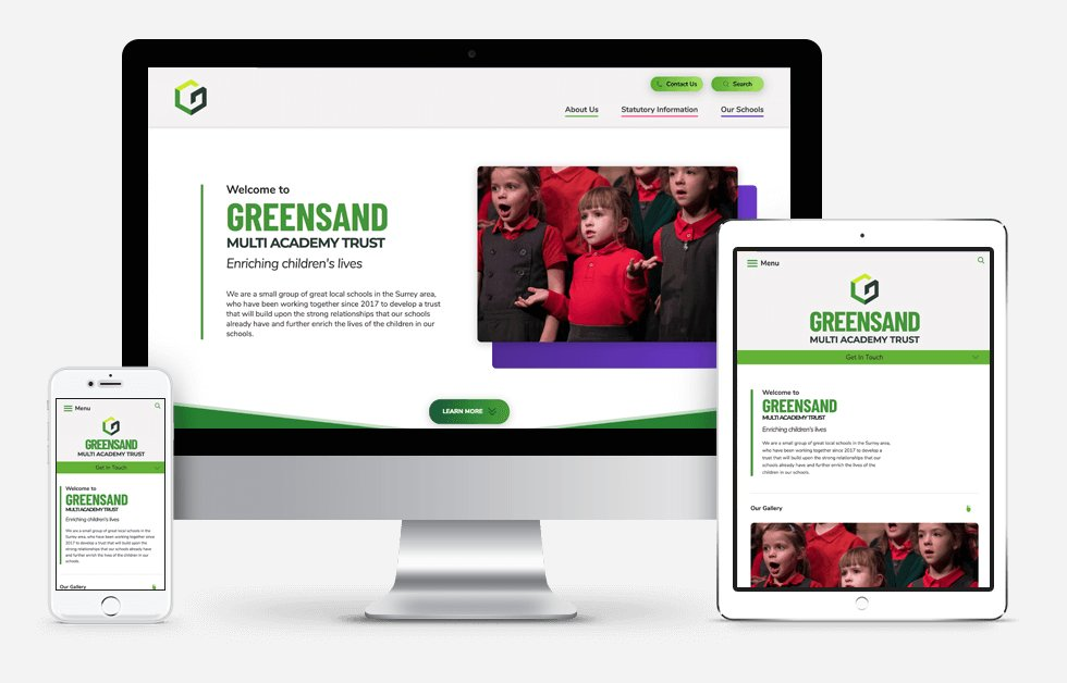 Greensand Multi-Academy Trust Website Design