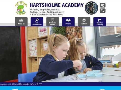 New Website Design For Hartsholme Academy