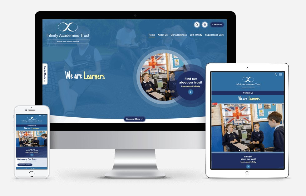 Infinity Academies Trust Website Design