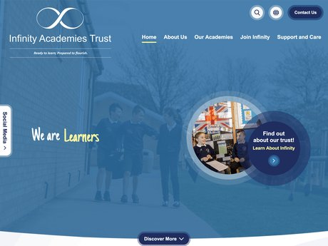 New Website Designed For Infinity Academies Trust