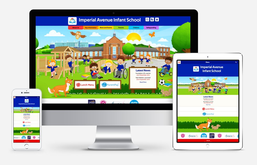 Imperial Avenue Primary School Website Design