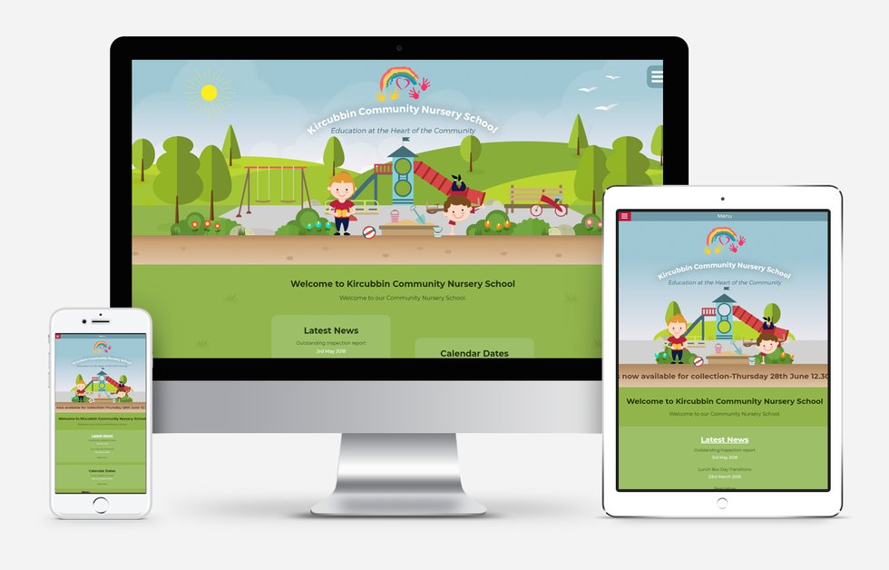 Website Design For Kircubbin Community Nursery School