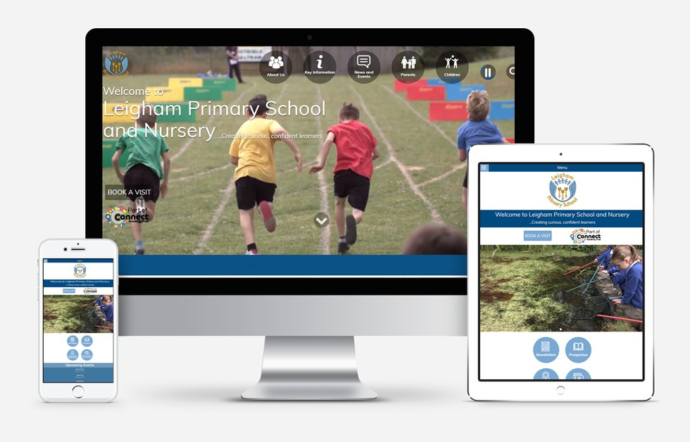 New Website Design For Leigham Primary School and Nursery