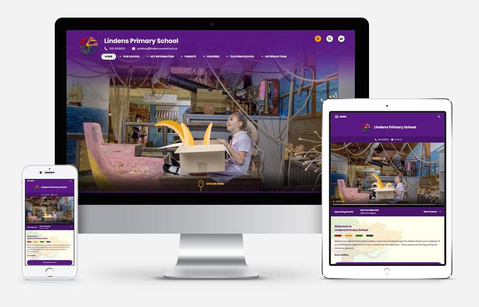 New Website Design For Lindens Primary School