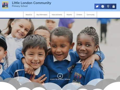 New Website Designed For Little London Community Primary School