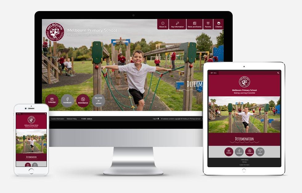 Melbourn Primary School Responsive Website Design