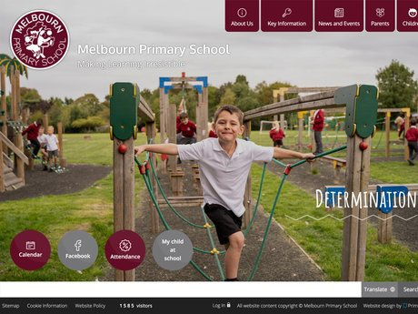 Melbourn Primary School Website Design