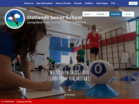 Website Design For Oatlands Junior School