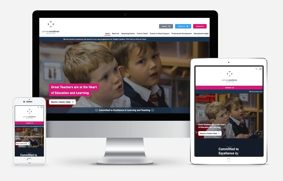 New Website Designed For Primary Excellence