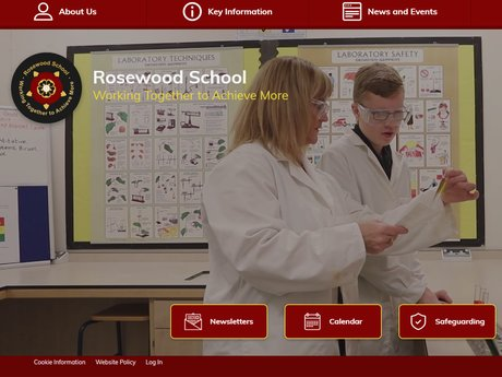 New Website Designed For Rosewood School