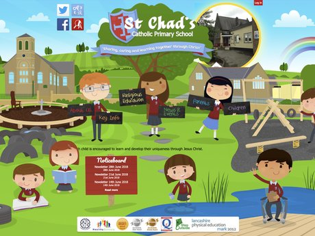 St Chad's Catholic Primary School Website Design