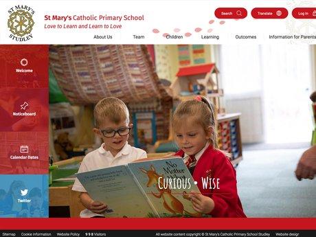 St Mary'sCatholic Primary School Website Design