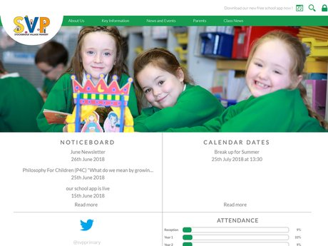 Stockbridge Village Primary School Website Design