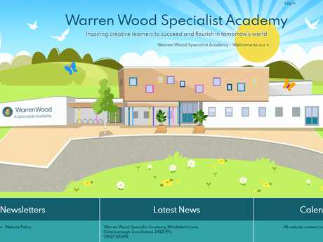 Warren Wood Specialist Academy website design.png