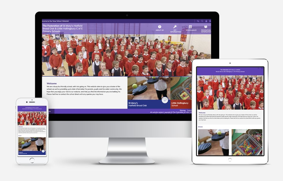 Federation of Little Hallingbury and St Mary's Hatfield Broadoak website design