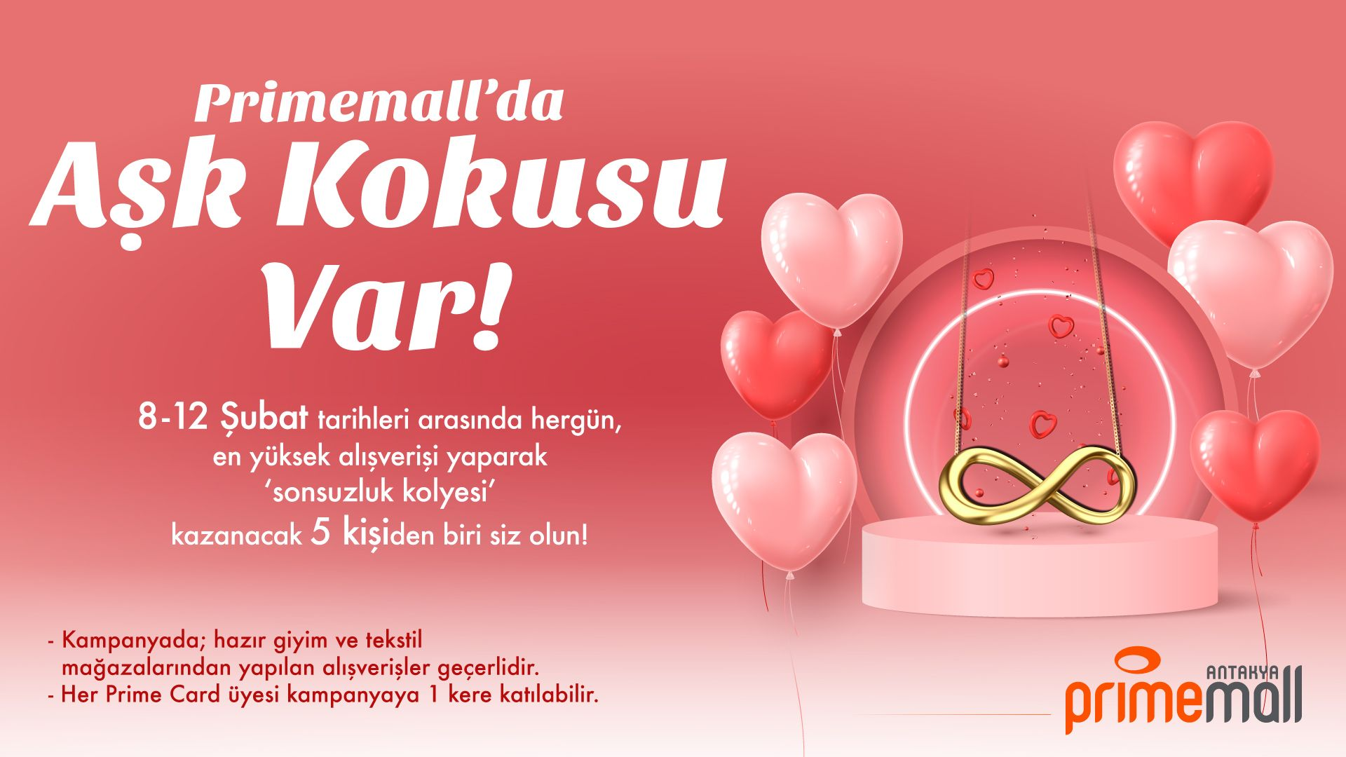 Primemall'da Aşk Kokusu Var