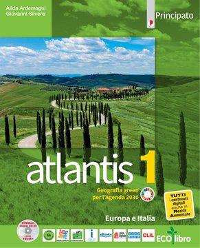 Atlantis 1 con Cartografia 1 + Quaderno delle competenze 1+Le regioni italiane
