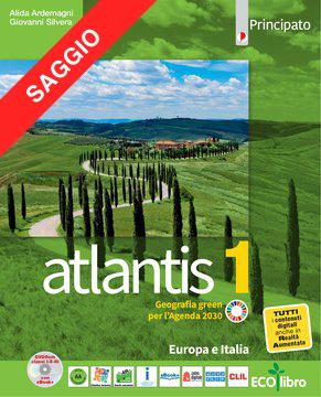 Atlantis 1  con Cartografia 1 + Quaderno delle competenze 1 + Le regioni italiane (PDF DIMOSTRATIVO. Contenuti digitali non attivi)