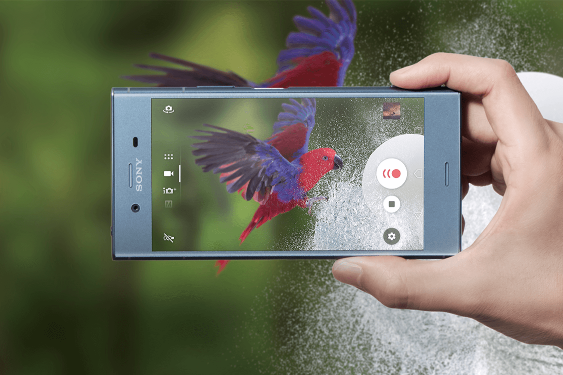 Win the new Sony Xperia XZ1 in Moonlit Blue - Priority