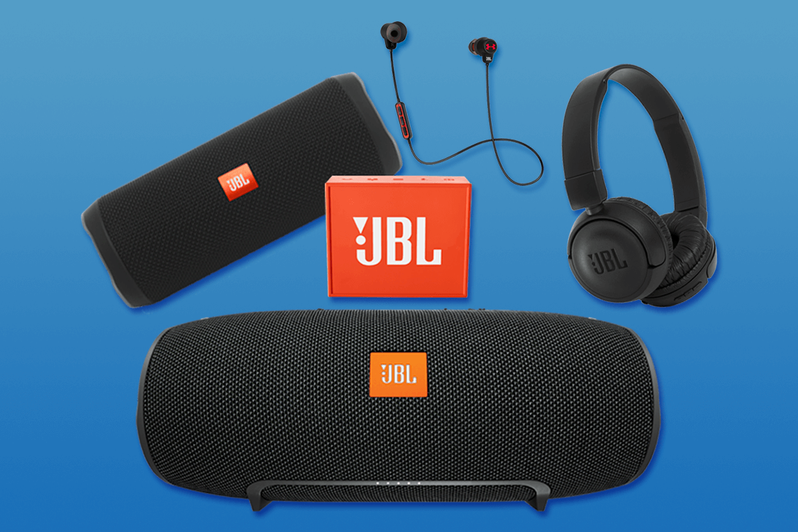 Win a speaker and headphone bundle for your family from JBL